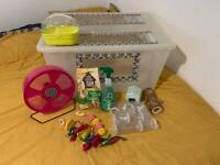 Big hamster cage and accessories!