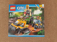 Lego 60159 City Jungle Halftrack Mission - Brand New
