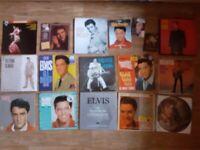20 x rare elvis vinyl / cd / platinum edition