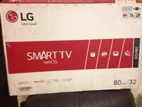 "BRAND New LG 32"" Full HD LED Smart TV with wifi, Freesat HD & Freeview HD"