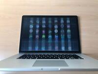 2014 MacBook Pro 15 intel i7 16gb ram 256gb ssd - needs new screen