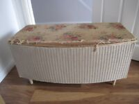 LLOYD LOOM BLANKET BOX