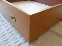 Hand-Crafted Solid Wood Under-Bed Storage Drawer (Wheeled) - SALE PRICE