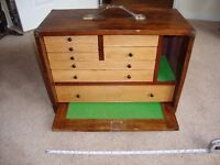 Toolmakers Cabinet with lathe tools etc Myford model engineer