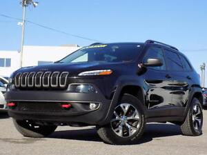 Jeep Cherokee Trailhawk 4X4 2014 V6/CUIR/GPS/HITCH