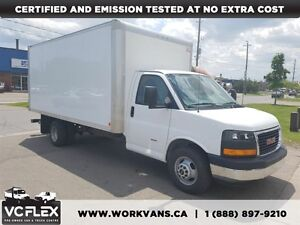 2013 GMC Savana 3500 G3500 16Ft 6.6L Duramax Diesel + Ramp