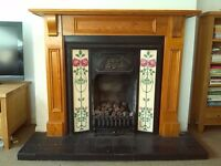 Victorian style fireplace for sale