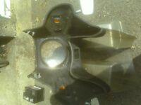 top fairing and fibreglass panniers for 1978 honda cx500.