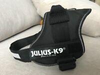 Julius K9 Powerharness Size 0 (black)