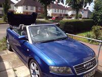 Audi A4 Convertible LPG ....ono