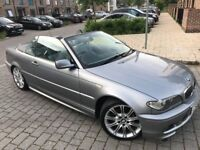 BMW 3 Series 2.0 320Cd Sport Convertible,Diesel ,4 owners,full service,new mot,new clutch ,Hpi clear