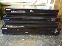 two home cinemas all found in new house! Untested! Can deliver or post!