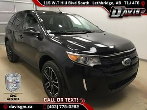 Used 2014 Ford Edge SEL AWD-Dual Sunroof,Cloth/Leather Seats