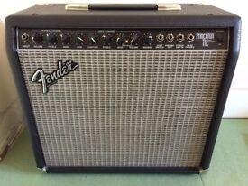 classic fender princeton 112 plus 65 watt combo amp