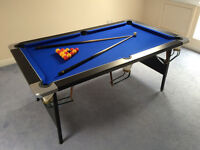 Pool Table - Deluxe Foldable 6ft