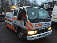 Mitsubishi canter 6.5 ton recovery speck lift £4750