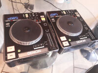 2 x DENON DN-S3000 TABLE TOP DJ CD AND MP3 PLAYERS