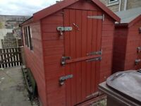10' X 5' Heavy Duty Garden Shed With Stable Door