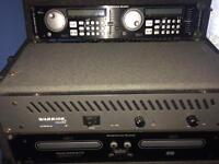 American Audio DCD-PRO310 +Warrior definitive audio amplifier sb600