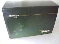 Heineken Pint Glasses Box Set