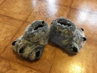 BRAND NEW monster slippers size 8-9 kids