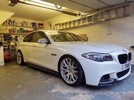 BMW 520D Msport Mperformance Auto Pro Nav Reverse Camera Heated Leather FSH 1 previous owner,