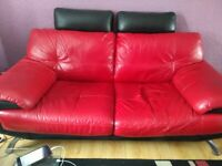 Black And Red Sofa Sofas Armchairs Couches Suites For Sale