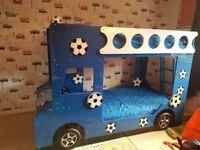 Football bus bunk bed