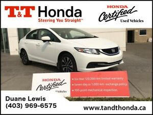 2015 Honda Civic EX *One Owner, Rear Camera, Sunroof, Bluetooth*