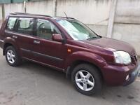 BREAKING NISSAN X-TRAIL 2.0 PETROL - ALL SPARES AVAILABLE - ENGINE? AXLE? ALLOYS? DOOR? SEATS?