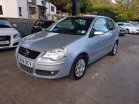 VOLKSWAGEN POLO 1.4 PETROL GOOD MILLAGE A/C DRIVE VERY WELL CARD PAYMENTS, CAR4YOU FINANCE AVAILABLE