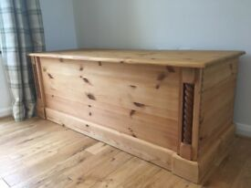 Gorgeous Wooden Family Trunk - Excellent Condition