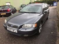 EXCELLENT VOLVO V70 DIESEL AUTOMATIC, FSH, NEW MOT, NEW BRAKES AND TYRES