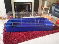 Large indoor rabbit/guinea pig cage plus accessories forsale £30 ono