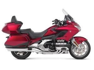 2018 Honda Gold Wing Tour DCT Extra year warranty at no charge (