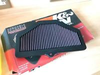 Suzuki GSXR K&N high flow filter