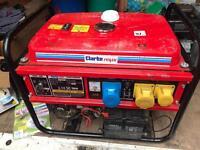 Clarke 5.5kva petrol generator.