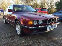 BMW 735i E32 1990