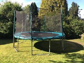 TP 12ft trampoline with safety net