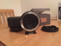 Metabones Speed Booster - Canon EF Lens to Micro Four Thirds (attach Canon lenses to GH4)