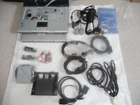 6 boxes computer items from leads to spare parts etc inc 2 touch screens, 3 laptops
