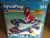 Huge Aquaplay Mega Lock Box Set - Complete and used once! Great Water Play set!