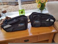 Motorcycle luggage bags oxford sports lifetime , panniers and back pack and bumbag