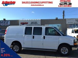 2015 Chevrolet Express GMC G2500! fin or lease from 4.99%oac