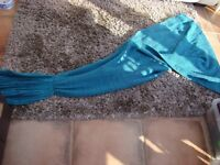 Mermaid Tail Blanket. Brand new. Turquoise blue mix.