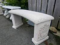 Concrete Liverpool Football Bench Seat