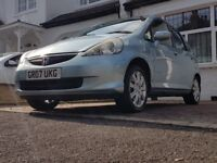 Cheapest Honda Jazz 1.3L Petrol Genuine Mileage ** With Automatic Windows and Side Mirrors **