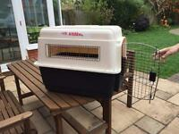 DOG TRAVELLING CRATE..used once