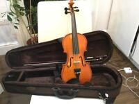1/2 Violin with bow/case for sale Stentor Violin with Evah Pirazzi strings Excellent Condition