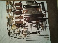 For Sale Large Collection of Vintage Hand Tools